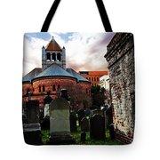 Circular Church Tote Bag