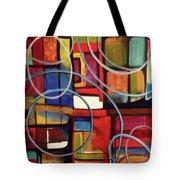 Circular Confusion Tote Bag