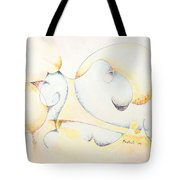 Circular Thoughts Tote Bag