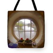 Circular Window Tote Bag
