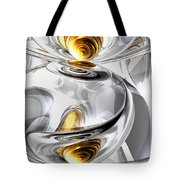 Circumvoluted Abstract Tote Bag