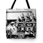Circus Bandwagon, 1900 Tote Bag