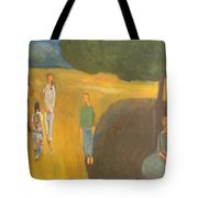 Circus Family Tote Bag