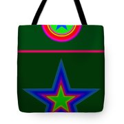 Circus Green Tote Bag
