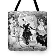 Circus Poster, 1895 Tote Bag