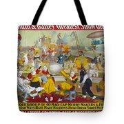 Circus Poster, 1903 Tote Bag