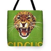 Circus Poster, 1940s Tote Bag
