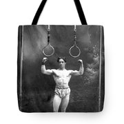 Circus Strongman, 1885 Tote Bag