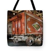 Circus Wagon Tote Bag