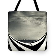 Circus With Distant Ships Tote Bag