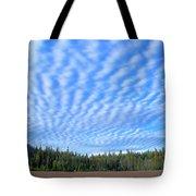 Cirrocumulus Clouds Over Mt. Mclaughlin Tote Bag