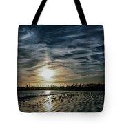Cirrus Clouds Tote Bag