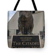 Citadel Bulldog Tote Bag