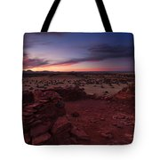 Citadel Sunset Tote Bag by Mike  Dawson