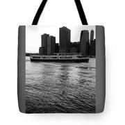 Cities And Rivers Ny1 Tote Bag