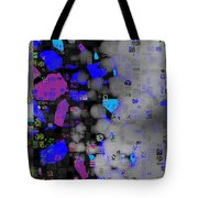 Citified Fog Tote Bag