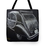 Citroen 2cv Charleston Tote Bag