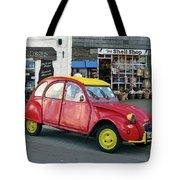 Citroen 2cv Tote Bag