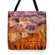 City - Arizona - Grand Canyon - Kabob Trail Tote Bag