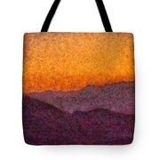 City - Arizona - Rolling Hills Tote Bag