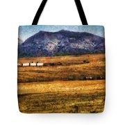 City - Arizona - Southwestern Cargo Train Tote Bag