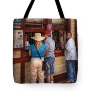 City - Lancaster Pa - The Train Station Tote Bag