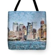 City - Ny - Manhattan Tote Bag