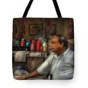 City - Ny - The Pretzel Vendor Tote Bag