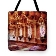City - Vegas - Excalibur - In The Great Hall  Tote Bag