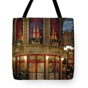 City - Vegas - Paris - Le Cafe Tote Bag