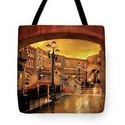 City - Vegas - Venetian - The Streets Of Venice Tote Bag