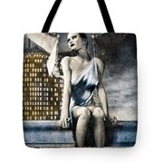City Angel -2 Tote Bag