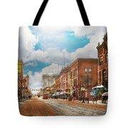 City - Arkansas - Main St 1925 Tote Bag