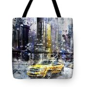 City-art Nyc Collage Tote Bag