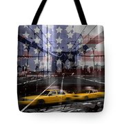 City-art Nyc Composing Tote Bag