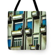 City Balconies Tote Bag