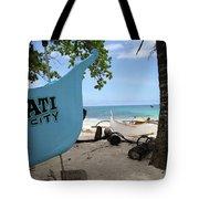City Beach Tote Bag