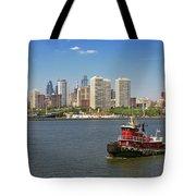 City - Camden Nj - The City Of Philadelphia Tote Bag