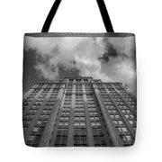 City Canyon Black And White Tote Bag