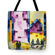 City Center  Tote Bag