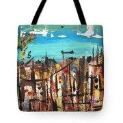 City Chaos Tote Bag