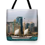 City - Chicago - Cruising In Chicago Tote Bag