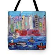 City City City Tote Bag