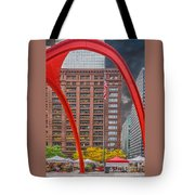 City Flamingo Tote Bag