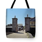 City Gate Of St Augustine Tote Bag