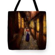 City - Germany - Alley - A Long Hard Life 1904 Tote Bag