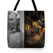 City - Germany - Alley - Coming Home Late 1904 - Side By Side Tote Bag