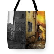 City - Germany - Alley - The Farmers Wife 1904 - Side By Side Tote Bag