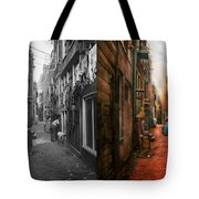 City - Germany - Alley - The Other Half 1904 - Side By Side Tote Bag