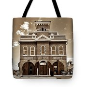 City Hall And Fire Department S Tote Bag